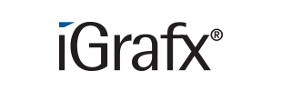 iGrafx のロゴです。