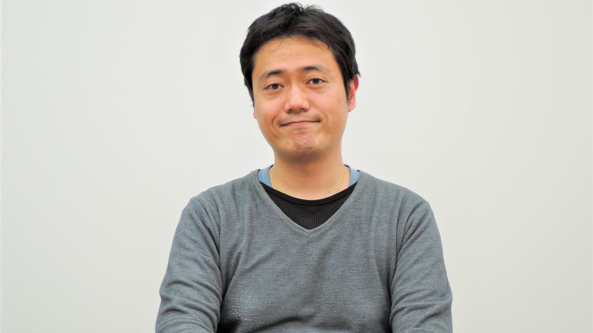 社員インタビューメインの須田山の画像です。